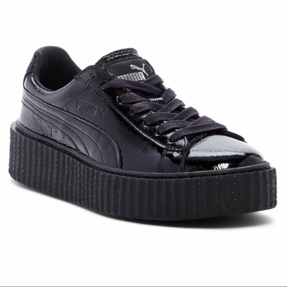 PUMA X FENTY BY RIHANNA CREEPER CRACKED LEATHER 9e794347b